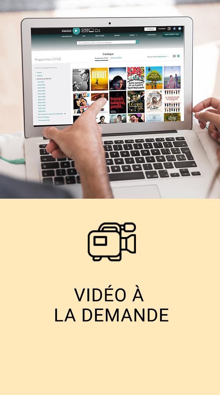 vidéo à la demande